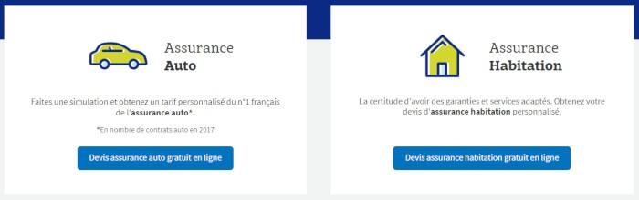 Devis en ligne assurance Macif