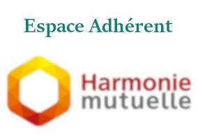 Harmonie Mutuelle espace adhérent