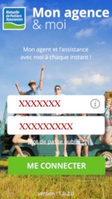 Application mobile mon agence et moi mutuelle de Poitiers assurances