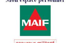 Assurance Maif espace personnel
