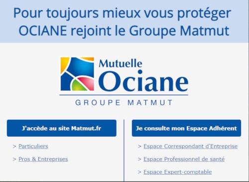 ociane.fr groupe matmut